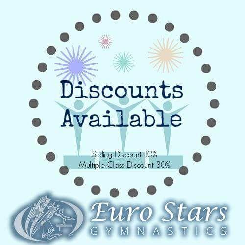 Gymnastics Discounts
