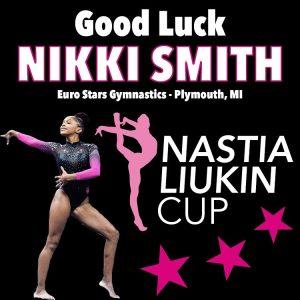 Nikki Smith Nastia Cup