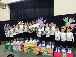 first place level 3 - swept almost all age divisions